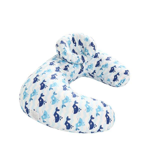 oreiller d'allaitement baleine